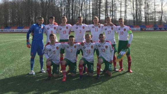 Юношите до 16 завършиха наравно с Литва