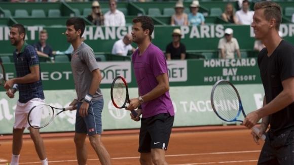 Григор Димитров ще играе благотворително тенис в Монте Карло