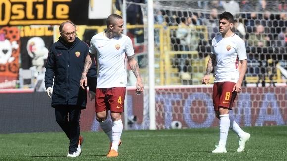 Наинголан остава на пейката срещу Барселона