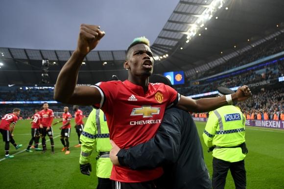 Погба изведе Ман Юнайтед до фантастичен обрат и отложи празненствата на Сити (видео)