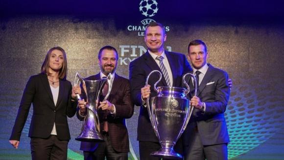 Кличко: Киев е столица на европейския футбол