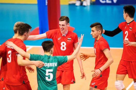 България oстана 6-а на Евроволей 2018 за юноши