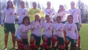 Девическият национален отбор до 16 г. с втора победа в Литва