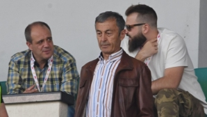 """Любопитна среща в ложите на стадион """"Васил Левски"""""""