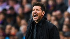 Симеоне: Реалната цел този сезон е да спечелим Лига Европа