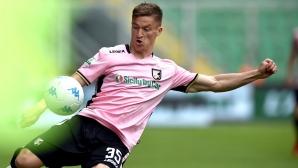 """Палермо загуби ценни точки в гонитбата за Серия """"А"""", Чочев гледа от пейката"""
