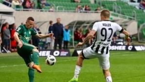 Снаряд в първата минута порази тима на Алекс Колев и Крачунов (видео)