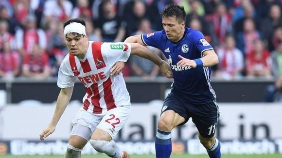 Шалке и Кьолн не си помогнаха в мач с 4 гола