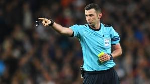 УЕФА осъди заплахите срещу Майкъл Оливър и неговата съпруга
