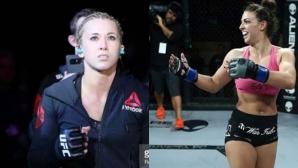 Макензи Дърн срещу Аманда Купър в UFC 224