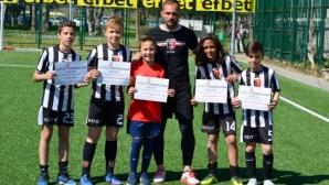 Аян Садъков-младши заминава за Кампус Барселона заедно с 5 деца от школата
