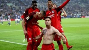 Айнтрахт сътвори сензацията: Нико Ковач срещу Байерн на финала за купата (видео)