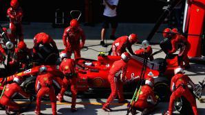 ФИА няма да се занимава с пушещия двигател на Ферари