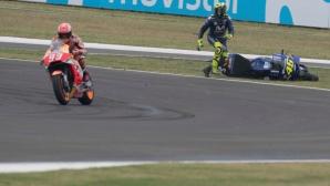 В MotoGP им писва от враждата между Роси и Маркес