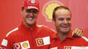 Не позволили на Рубенс Барикело да посети Шумахер