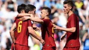 Рома загря за Ливърпул с класика срещу СПАЛ (видео)