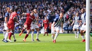 Уест Бромич - Ливърпул 0:2 (гледайте на живо)