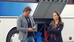 Треньор на Исландия гледа Ейолфсон на живо в София