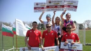 Павел Павлов и Лина Христова спечелиха първия шосеен пробег в Шабла