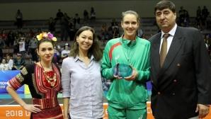 Българка попадна в Идеалния отбор на Евроволей 2018