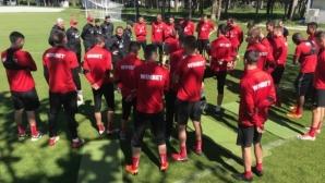 ЦСКА-София започна подготовка за мача с Левски