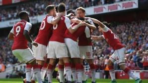 Арсенал - Уест Хам 3:1 (гледайте тук)