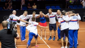 """Чехия се класира за финала на """"Фед Къп"""""""