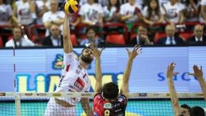 Цецо Соколов и Лубе загубиха финал №1 в Италия (видео + снимки)