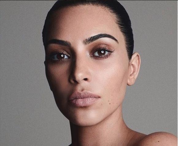Ким Кардашян свали изцяло дрехите (снимки)