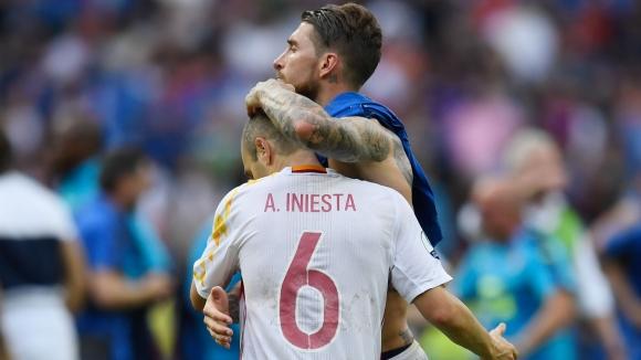 """Рамос знае как Иниеста можеше да спечели """"Златната топка"""""""