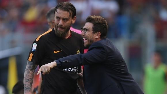 Ди Франческо показа оптимизъм преди реванша с Ливърпул