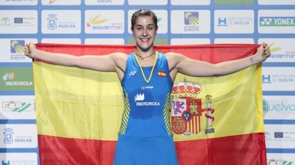 Испанка защити европейската си титла по бадминтон