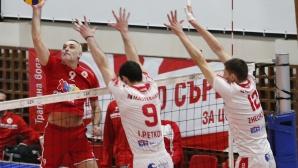 ЦСКА приема Нефтохимик във финал №3