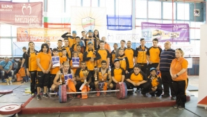 """100 състезатели участваха в турнира по вдигане на тежести за купа """"Русе"""""""