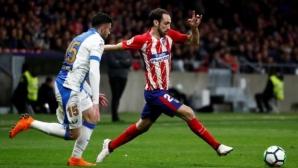 Хуанфран пропуска двубоите на Атлетико с Арсенал