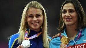 Трио световни медалистки в скока на височина на Диамантената лига в Рим