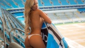 Секси подкрепа за Бразилия на Мондиала (снимки)