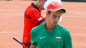 Адриан Андреев даде само гейм на италианец