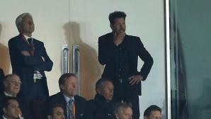 УЕФА може да накаже Симеоне за 3 мача