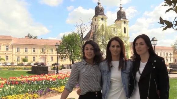 Български волейболни красавици рекламират Шампионската лига (видео)