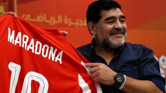 Марадона се отметна - остава начело на Ал Фуджайра