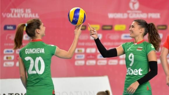 Волейболистките на България с 4 контроли преди Златната европейска лига