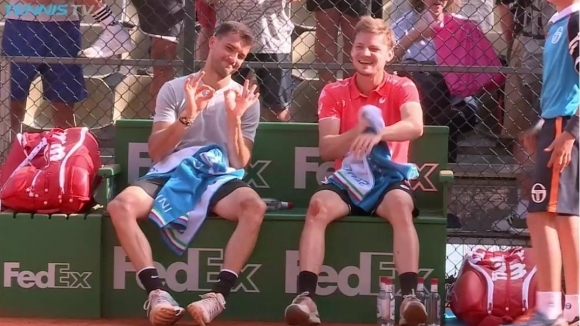 Гришо главен герой в най-забавното от тениса през април (видео)