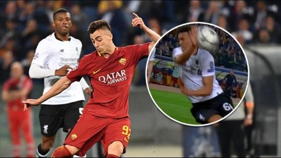 Колко спорни ситуации ни предложи зрелището Рома - Ливърпул?