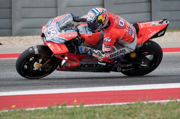 Довициозо бе по-бърз от Маркес с едва 0.007 сек в първата MotoGP тренировка