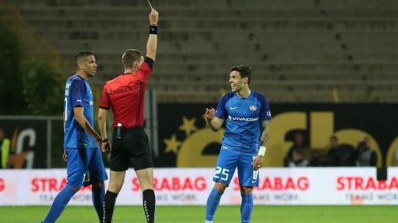 Фигейредо се подиграва със съдията на Левски - Ботев Пд