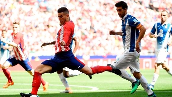 Атлетико загуби у дома и освободи второто място за Реал Мадрид