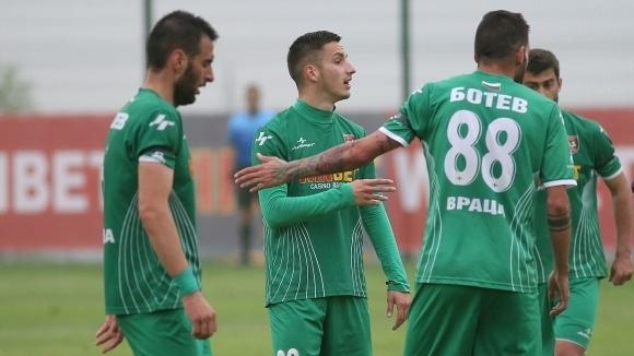 Ботев (Враца) изкачи върха във Втора лига