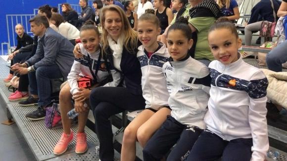 Седем медала за гимнастичките на клуб Олимпия 74 в Италия