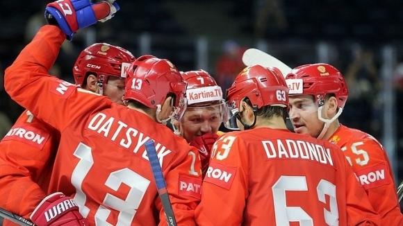 Русия и САЩ с убедителни победи на световното по хокей на лед